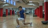 Sliding Lunges